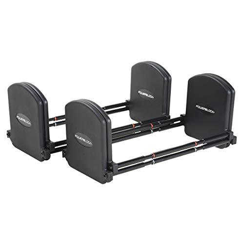 PowerBlock® Pro Stufe 3 Einstellbare Hantelpaar Erweiterungsset 32 bis 41 kg platzsparend professionell einsetzbar studio Qualität kurzhantel verstellbar fur fitness und Krafttraining