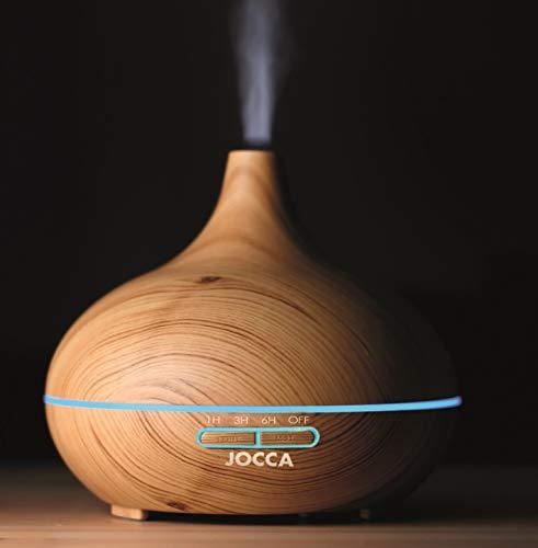 Jocca aceites Esenciales, humidificador de Aire y difusor de Aroma, Madera como, 171717