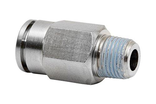 Cofan 05140814 Conexion recta tubo, 1/4, 8 mm