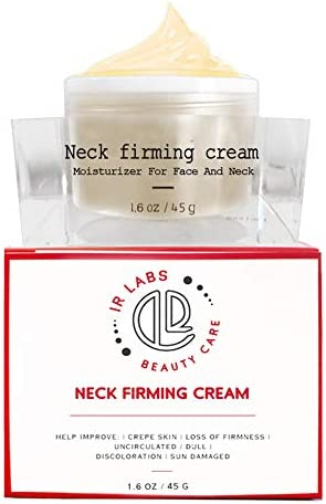 Neck Cream With Advanced Anti Aging Complexes and Peptides Best Day and Night Anti Wrinkle Cream product image