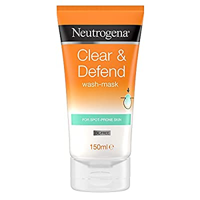 Neutrogena Clear & Defend Wash-Mask, 150 ml from Johnson & Johnson Limited
