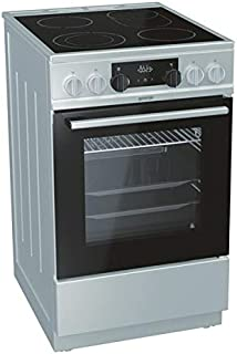 Gorenje EC 5351 XA Elektro-Standherd mit Glaskeramik-Kochfeld / 50 cm/weiß