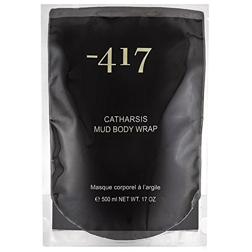 -417 Body Wrap Pure Dead Sea Black Mud Cosmetics Catharsis Mask - Beauty Body Care Wraps For Cellulite, Stretch Marks, Detoxify Your Skin