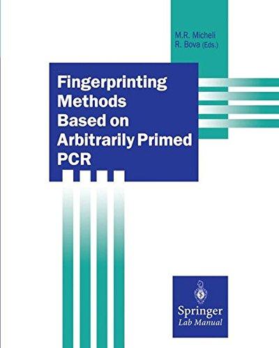 Fingerprinting Methods Based on Arbitrarily Primed PCR: Random Amplification Methods (Springer Lab Manuals)