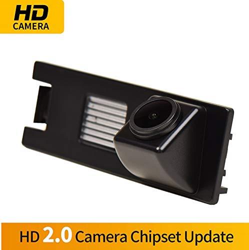 Farbkamera Wasserdicht Rückfahrkamera kennzeichenbeleuchtung Kamera KFZ Rückfahrsystem mit Einparkhilfe Nachtsicht für Hyundai Tucson MK2 ix35 2005-2014