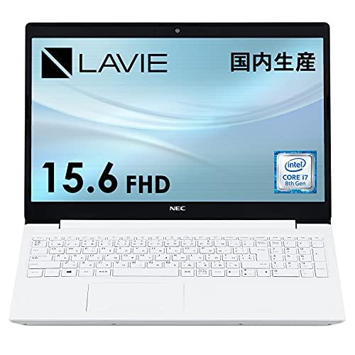 NECノートパソコン15.6インチFHDLAVIEDirectNS国内生産(Corei7/8GBメモリ/512GBSSD/カームホワイト)(Officeなし(Windows10Home)WEB限定モデル【Windows11無料アップグレード対応】