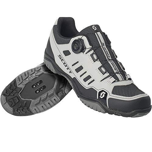 Scott Sport Crus-r Boa MTB Trekking Fahrrad Schuhe Reflective grau/schwarz 2020: Größe: 43