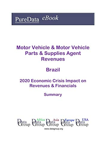 Motor Vehicle & Motor Vehicle Parts & Supplies Agent Revenues Brazil Summary: 2020 Economic Crisis Impact on Revenues & Financials (English Edition)