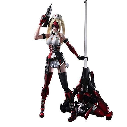Anime Figure Suicide Squad Harley Quinn Action Figures Toys Statue Collection Modello Decorazione Della Stanza Regali Per Bambini 26Cm