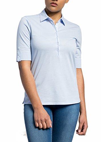 eterna Damen Poloshirt Comfort Fit Kurzarm Marine (52) 40