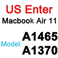 for for for MacBookPro用シリコンキーボードカバー1315 16 17 Retina Touch Air 13 1211透明クリアTPUEU US A2179 A22892020フィルム -US Air 11