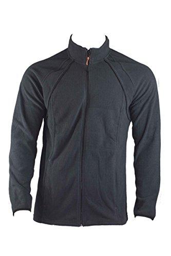 Livergy Herren FLEECEJACKE Freizeitjacke Sweatjacke Sport Jacke Blau oder Schwarz, Farbe:Blau;Größe:XL