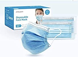 PISEN Disposable Face Masks Non-Medical