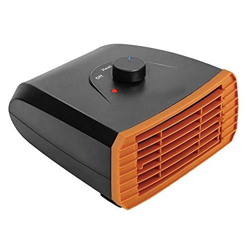 ZXLIFE@@ sneeuwblazer 2-in-1 Dc 12 V/Dc 24 V eenvoudige installatie, snelle koeling en verwarming, voor alle auto/vrachtwagens 12V Oranje.