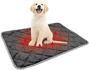 All--In Tapis pour chien lavable et antidérapant (gris, M)