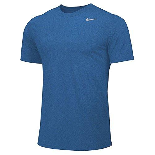 Nike Mens Shirt Short Sleeve Legend (Small, Royal Blue)