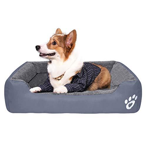 Camas para Perros Cama para Mascotas Almohadilla para Gatos Casa para Perros Impermeable Colchoneta para Dormir para Perros Cojín para Dormir Suave Perrera Adecuado para Perros o Gatos Four Seasons