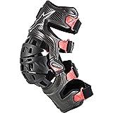 Alpinestars Protección Mx Para Rodilla Izquierda 2010 Bionic 10 Carbon...