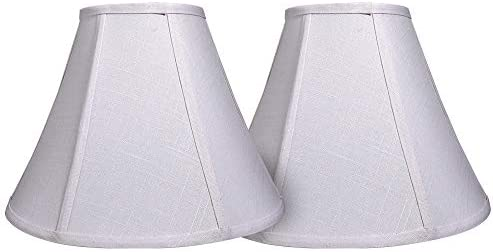 Double Tootoo Star White Lamp Shade Set of 2 Large Barrel Lampshade for Floor Light and Table product image