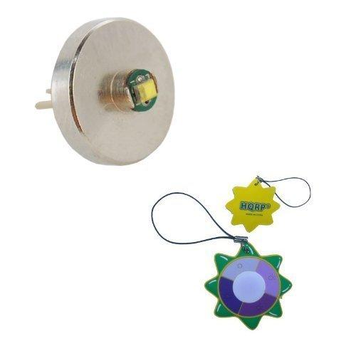 HQRP High Power 3W 60 Lumen Bi-Pin LED Ersatzbirne für 1 AAA Maglite Solitaire V0.0 Taschenlampe