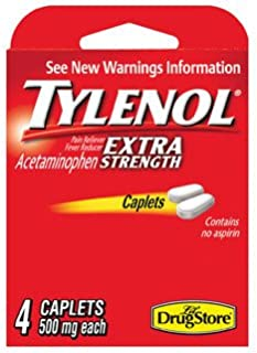 Lil Drug Store Products Inc Tylenol Extra Strnth4Ct Case Of 6, Lil Drug Store Products Inc