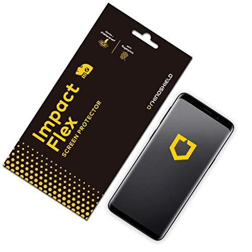 RhinoShield Protection écran compatible avec Samsung [Galaxy S9] | Anti-Chocs Flex - Film Protecteur Flexible avec Technologie de Dispersion des Chocs