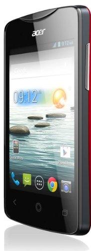 Acer Liquid Z3 Duo 8,89 cm (3.5 Zoll) 0,5 GB 4 GB Dual-SIM Rot 1500 mAh - Smartphones (8,89 cm (3.5 Zoll), 0,5 GB, 4 GB, 3 MP, Android 4.2, Rot)