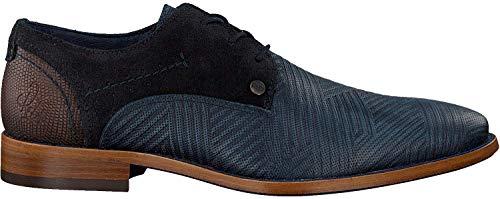 Rehab Business Schuhe Solo Zigzag Blau Herren - 42 EU