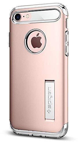 Spigen Slim Armor Designed for Apple iPhone 7 (2016) / Designed for iPhone 8 Case (2017) - Rose Gold