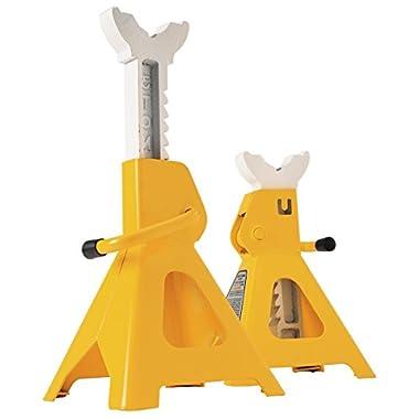 Performance Tool W41022 3 Ton (6,000 lbs.) Capacity Heavy Duty Jack Stand Set