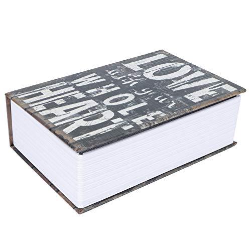 Caja para Esconder Dinero, Caja de Seguridad que Simula la Apariencia de un Libro, Caja de Seguridad de Desvío de Diccionario para el Hogar, Fácil de Ocultar, Adecuada para Guardar Monedas