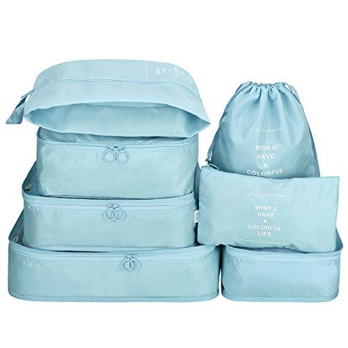 G4Free G4Free Kleidertaschen-Set Reisetasche in Koffer Wäschebeutel Schuhbeutel Kosmetik Aufbewahrungstasche