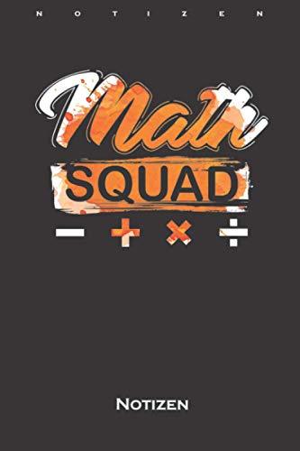 Math Squad Mathematik Nerd Genie...