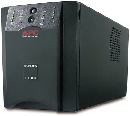 APC SUA1000 Smart-UPS 1000VA for servers and voice and data networks (Discontinued by Manufacturer)