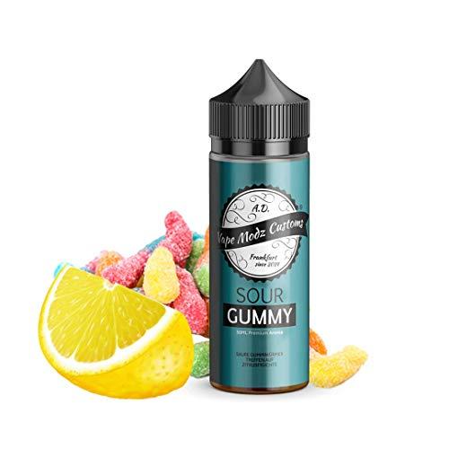 Vape Modz Customs Aromakonzentrat Sour Gummy, Shake-and-Vape zum Mischen mit Basisliquid für e-Liquid, 0.0 mg Nikotin, 30 ml