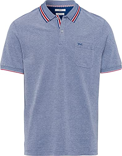 BRAX Style Paddy T-Shirt, Azzurro, S Uomo