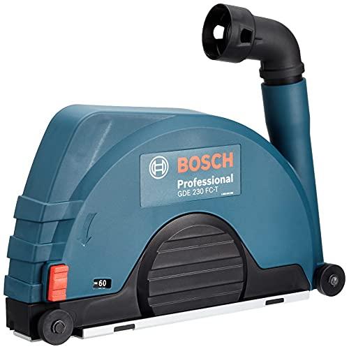 Bosch Professional GDE 230 FC-T - Caperuza de aspiración (para amoladora Ø disco 230 mm, cierre rápido)