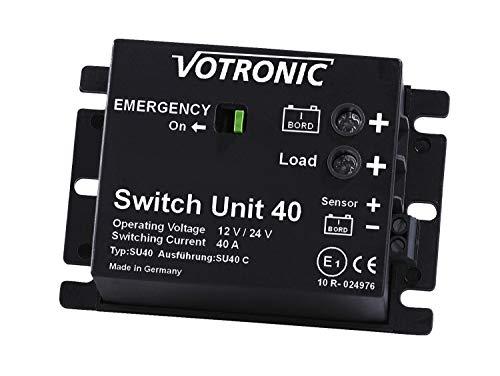 Votronic Switch Unit 40 12V / 24V Batterie Hauptschalter