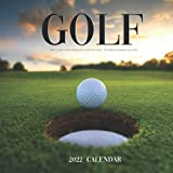 Golf Calendar 2022: Calendar 2022 with 6 Months of 2021 Bonus