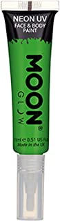 Intense Green Face And Body Paint With Brush Applicator One Size