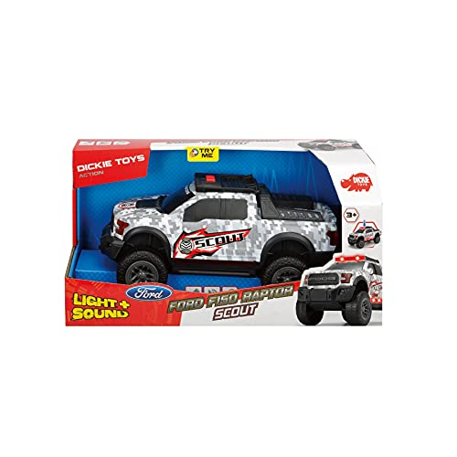 DICKIE TOYS Light & Sound Ford F-150 Raptor Scout
