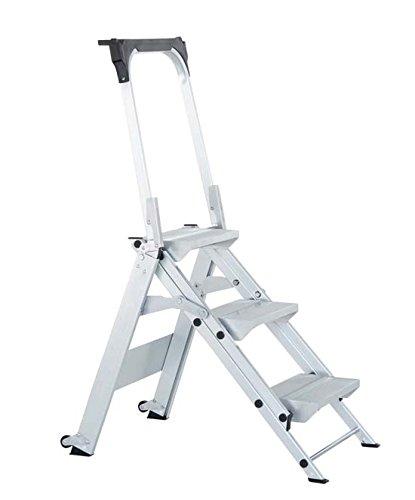 Zarges Z500 de seguridad escalera 2 peldaños): Amazon.es: Bricolaje y herramientas