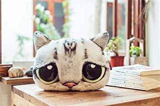 eSunny Wholesale Cartoon Cat Feather Cushion Cute Big Eyes Cat Cartoon Pillow Anime Toy Kids Sleep Appease Doll Birthday/Xmas Gift Thing You Must Have 4 Year Old Gifts Girl S Favourite 4T Superhero