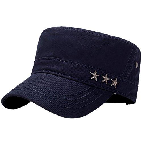 Aesy Cappello Militare Uomo, Cappellino Unisex per Berretto Militare da Combattimento in Twill di Cotone Lavato con Cappuccio dell'Esercito Cadetto Army cap