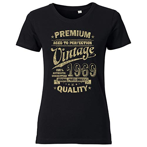 OutlawTex - Aged to Perfection 196 voor de 50e verjaardag - dames T-shirt