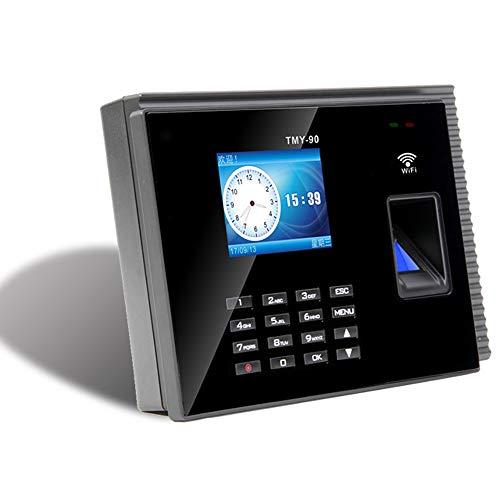 QWERTOUR Fingerabdruck-Wolke Zeiterfassung Maschine WiFi + APP Zeiterfassung Maschine Mitarbeiter Büro Fingerabdruck USB-Time Clock