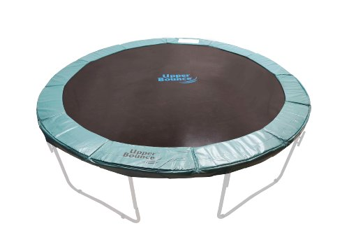 Super Trampoline Replacement Safety Pad (Spring Cover) Fits for 12 FT. Round Trampoline Frames. 10' wide - Green