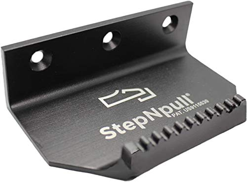 StepNpull Hands Free Door Opener (Black-1 Piece)