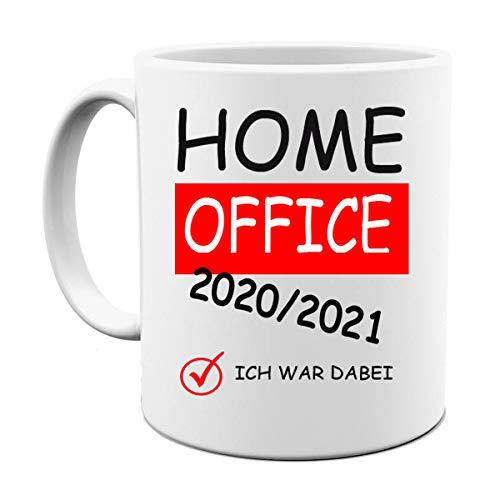 HOME OFFICE TASSE | HOMEOFFICE 2020 / 2021 FOTOTASSE|BÜRO TASSE|MOTIV TASSE | BEDRUCKTE TASSE | KAFFEETASSE | TEETASSE | KLOPAPIER KRISE | LUSTIG | GESCHENK|KERAMIK||FUCK THE VIRUS|TASSE(Weiss.)