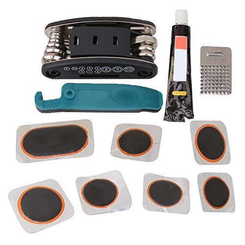 Vbest life Ensemble d'outils de réparation de vélos Multifonction, kit d'outils de réparation de mécanicien de vélo de vélo